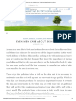 Even Men Care About Skin Care - Digital Marketing Experts From World