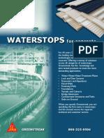 WATERSTOPS Catalog