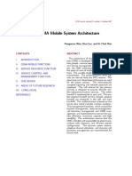 CDMA Network Arcthicture