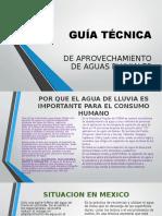 Guía Técnica Captacion de Agua Pluvial