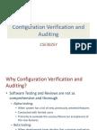 Configuration Auditing