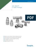 Gaugeable SAF 2507™ Super Duplex Tube Fittings, (MS-01-174, R5)