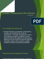 Estados Financieros Pro-Forma