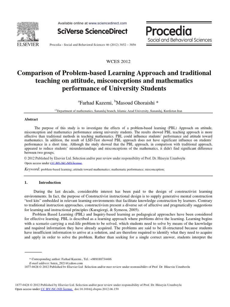 the attitude and performance towards mathematics The performance and attitude towards mathematics of students in ladderized education program in the universidad de manila - download as word doc (doc / docx), pdf.
