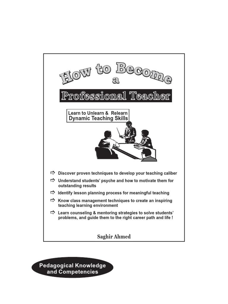 Pakistan Professional Teacher Guide
