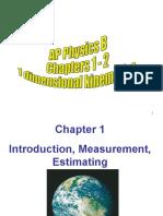 AP Physics B Ch 1-2 PPT