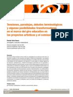 Tensiones, paradojas, debates terminológicos... - Fermín Soria .pdf