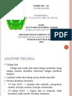 ppt otosklerosis