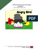 Tutorial Membuat Gambar Angry Bird Dengan CorelDRAW
