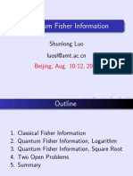 [2006 Ppt] Quantum Fisher Information