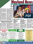 The Wayland News December 2016