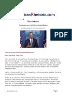 Barack Obama - Post Election Presser 2016