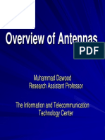 Overview of Antennas