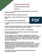 16 SFATURI PENTRU TINE.doc