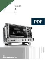 Rohde Schwarz RTO2000 Digital Oscilloscope Datasheet v0300