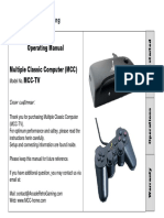 MCC TV Operating Manual