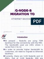 3G node-B - Ethernet backhaul.ppt
