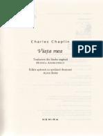 Fragment Viata Mea Charles Chaplin