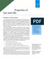Functional Properties of Oils Fats