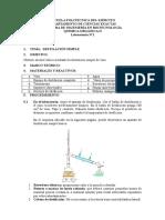 "Lab 1 - Destilaciã""n Simple"