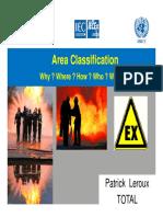 Area Classification Presentation-1