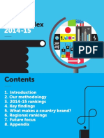 Country Brand Index 2014