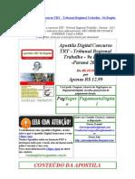 Baixar Apostila TRT 9 Regiao Parana Frete Gratis Download Apostila Digital Concurso Tribunal Regional Trabalho Parana 2010 Baixar