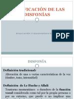 Clase 4 Clasificacion de Lals Disfinias