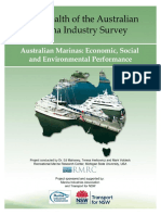 2013 Health of the Australian Marina Industry Research Report