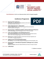 Συνέδριο για τις Νέες Τάσεις στην Αντιμετώπιση της Απάτης στις Ψηφιακές Πληρωμές μέσω Καρτών - Νομικές Πτυχές (22/11/2016)