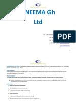 I-neema Profile 2016, July.
