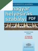 A Magyar Helyesírás Szabályai 2015