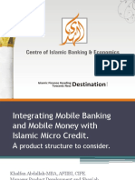 Integrating Mobile Banking and Mobile Money with  Islamic.pptx