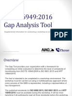 IATF 16949 2016 Gap Tool Instructions