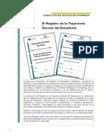 Documento - Trayectoria Escolar