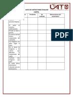 Lista de Cotejo Para Evaluar Cartel
