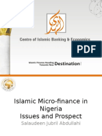 Alhuda cibe -Islamic Micro-finance in Nigeria