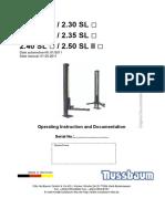 Manual tecnico Nussbaum 2.28_SL_until_2.50_SL_II_05-2011_E
