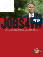 Jobs. The Right Plan For Tennessee.