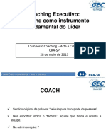Coaching Executivo - Coaching Como Instrumento Fundamental Do Líder