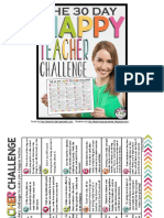 The Day Happy Teacher Challenge Free Download