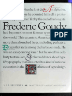 Frederic Goudy (Type Design Art eBook)