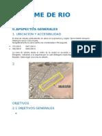 Informe de Rio Seco