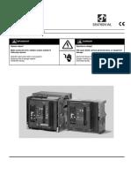 6. CIRCUIT-BREAKER 3WL-Operating Instruction