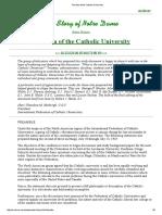 Notre Dame, The Idea of the Catholic University