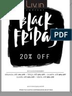 Black Friday 20% OFF
