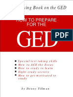 HOW TO PREPARE FOR THE GED!!!