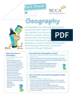 junior cert geography factsheet