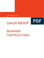 Scanner Instructions