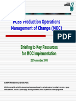 PCSB MOC Briefing to Key Resources